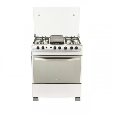 ESTUFA HACEB L-76 GAS NATURAL INOX